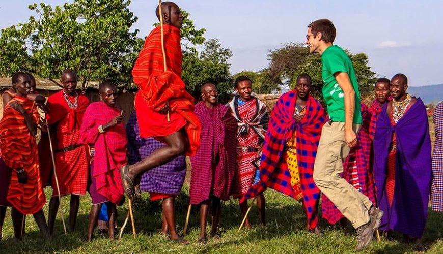møde masai mennesker kenya kultur